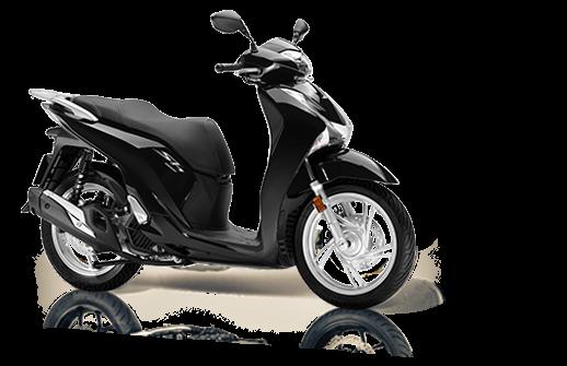 Honda SH 125 Mode 2018 2019 euro 4 μαύρο