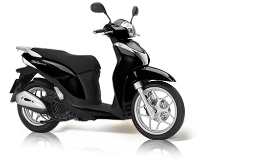 Honda SH 125i Mode 2018 2019 μαύρο