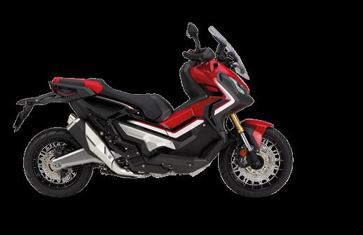 Honda X-ADV 750 2018 2019 κόκκινο μαύρο