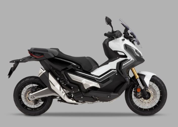 Honda X-ADV 750 2018 2019 λευκό άσπρο δεξιά μεριά