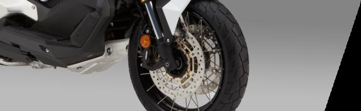 Honda X-ADV 750 2018 2019 μπροστινή ρόδα τροχός φρένο δισκόφρενο abs