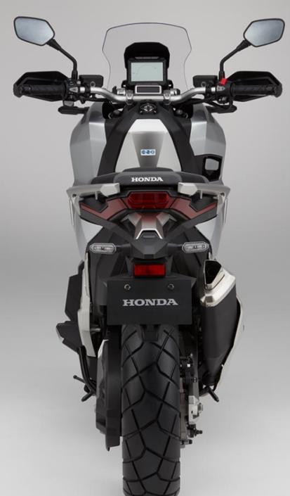 Honda X-ADV 750 2018 2019 πίσω μεριά