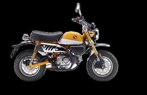 Honda Z125 Monkey κίτρινο νέο μοντέλο 2018 2019 αντιπροσωπεία ΝΟΜΙΚΟΣ Αθήνα κάθετη μονάδα motonomikos.gr