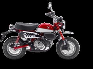 Honda Z125 Monkey κόκκινο νέο μοντέλο 2018 2019 αντιπροσωπεία ΝΟΜΙΚΟΣ Αθήνα κάθετη μονάδα motonomikos.gr