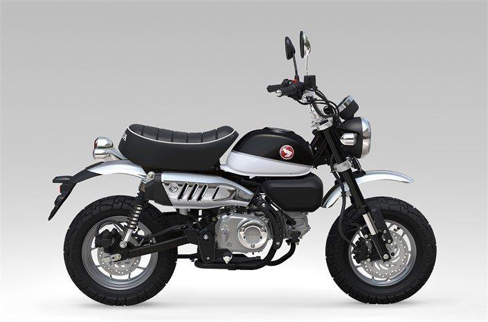 Honda monkey Z125 πέρλα μαύρο χρώμα 2018 2019 αντιπροσωπεία κάθετη μονάδα motonomikos.gr ΝΟΜΙΚΟΣ