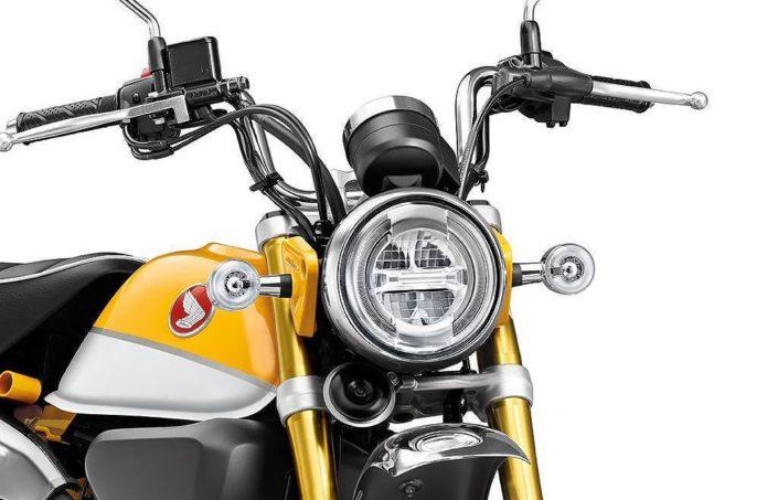 Honda monkey z 125 ετοιμοπαράδοτο στην εταιρεία MOTO NOMIKOS νέο μοντέλο 2018 4