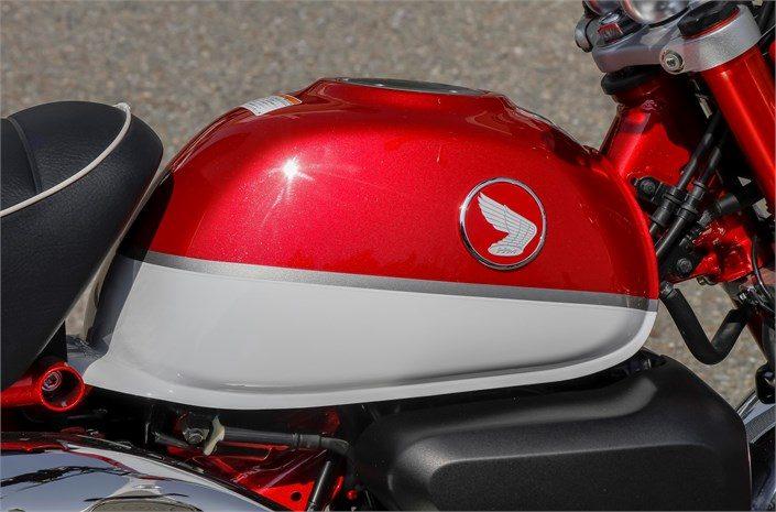 Τεπόζιτο πέρνα Honda Monkey 125 Z