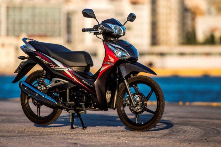 Honda supra X 125 κόκκινο