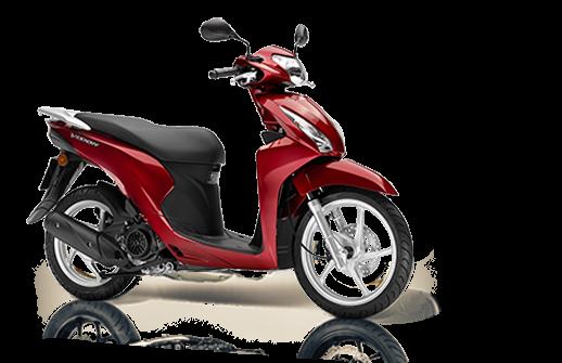 Honda vision 110 2018 2019 κόκκινο