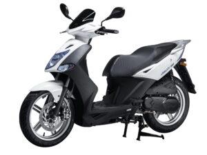 Kymco Agility 125i injection Euro 4 CBS άσπρο 2019 νέο μοντέλο κάθετη μονάδα ΝΟΜΙΚΟΣ motonomikos.gr