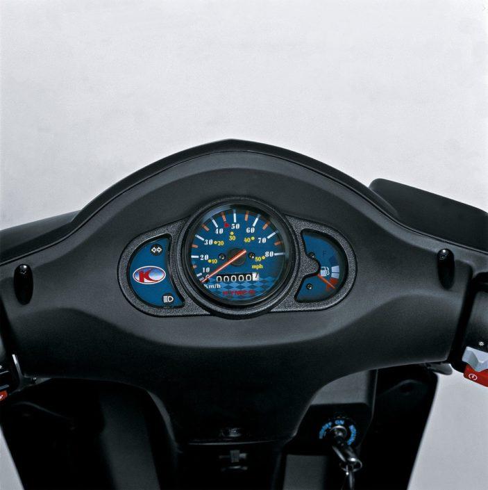 Kymco Agility 50F τιμόνι όργανα κοντέρ