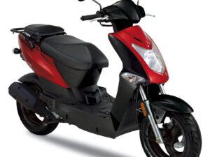 Kymco Agility 50F κόκκινο τετράχρονο 50άρι αντιπροσωπεία ΝΟΜΙΚΟΣ κάθετη μονάδα motonomikos.gr