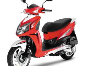 Sym Jet4 50 κόκκινο άσπρο