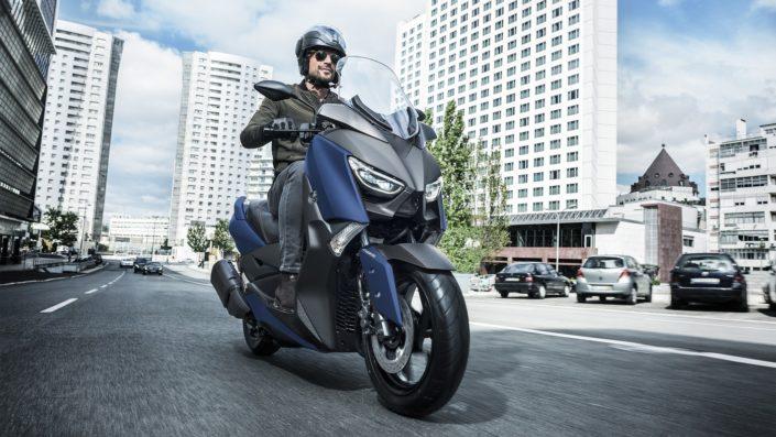 Yamaha XMAX 250 X-MAX μπλε μπροστινή μεριά