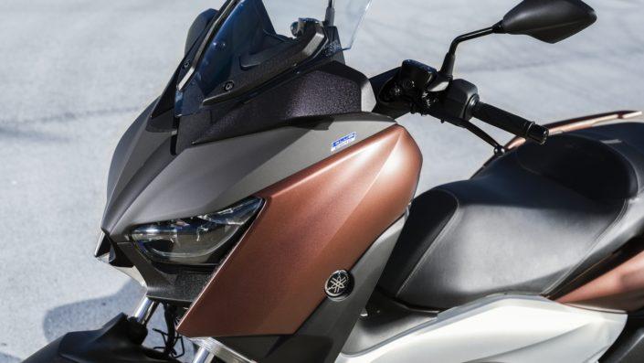 Yamaha XMAX 250 X-MAX μπροστινή μεριά φανάρι μάσκα