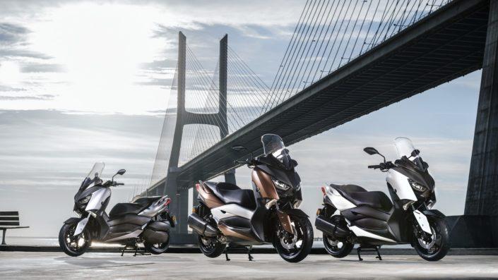 Yamaha XMAX 250 X-MAX όλα τα μοντέλα και τα χρώματα