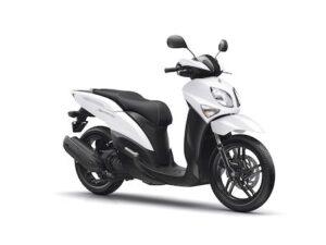 Yamaha Xenter 125cc λευκό άσπρο