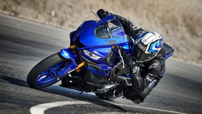 Yamaha YZF R3 πίστα