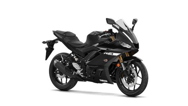 Yamaha YZF R3 Tech black