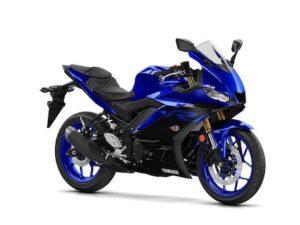 Yamaha YZF R3 Yamaha blue