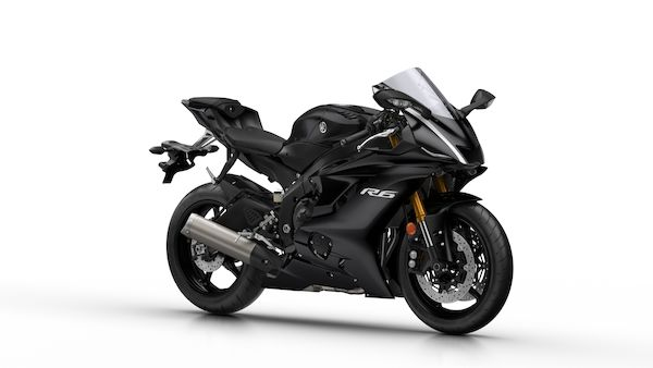 Yamaha yzf 600 r6 tech black
