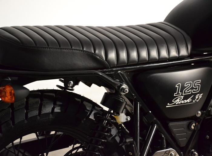 daytona rock ii 125 σέλα classic κλασσικό cafe racer αντίκα παλιό στυλ μηχανή αντιπροσωπεία κάθετη μονάδα ΝΟΜΙΚΟΣ