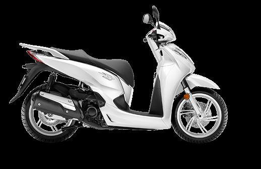Honda SH 300i ABS euro 4 2018 2019 άσπρο λευκό