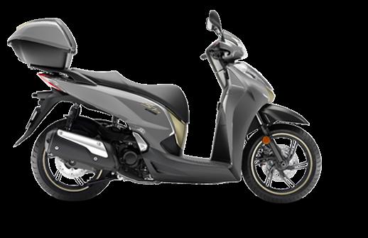 Honda SH 300i ABS euro 4 2018 2019 γκρι
