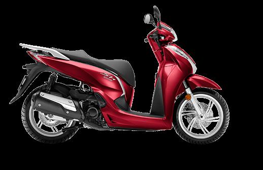 Honda SH 300i ABS euro 4 2018 2019 κόκκινο
