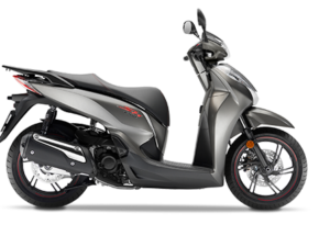 Honda SH 300i ABS euro 4 2018 2019 ματ μεταλλικό ασημί