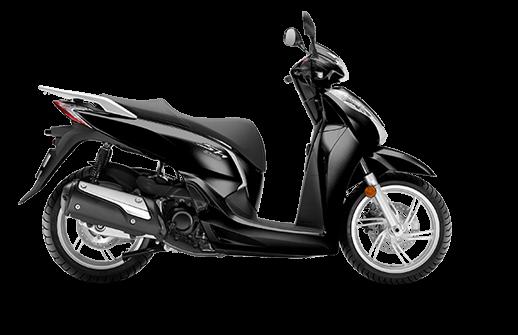 Honda SH 300i ABS euro 4 2018 2019 μαύρο