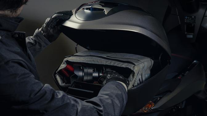 Honda SH 300i ABS euro 4 2018 2019 μπαγκαζιέρα topbox