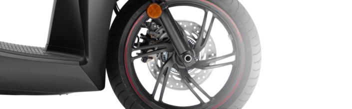 Honda SH 300i ABS euro 4 2018 2019 μπροστινή ρόδα τροχός abs