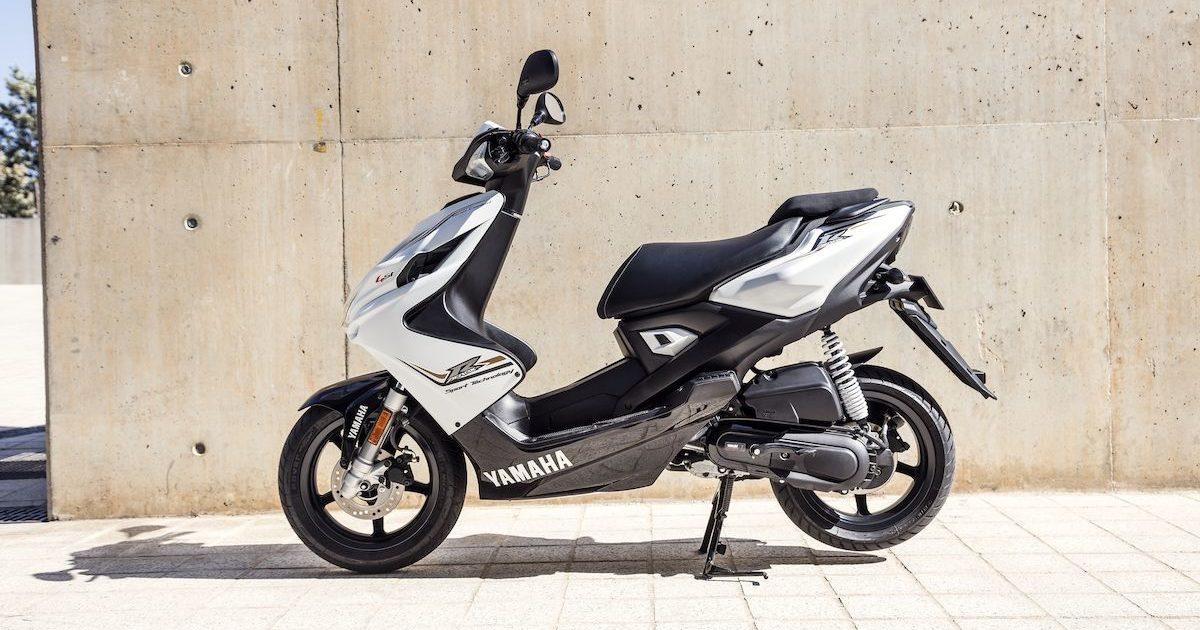 Yamaha Aerox 4 50cc 4-χρονο πλαϊνή