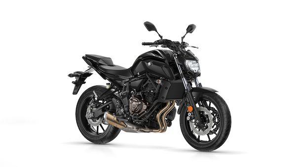 Yamaha MT-07 Tech Black