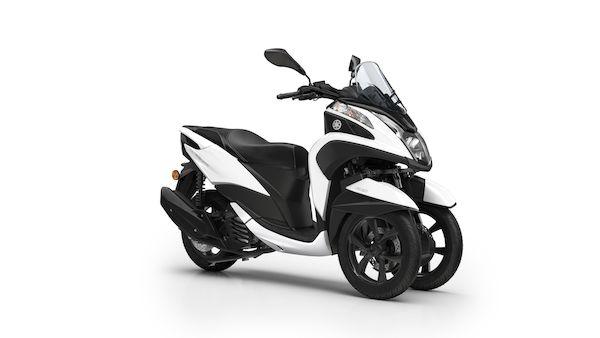 Yamaha tricity 155 2018 2019 λευκό