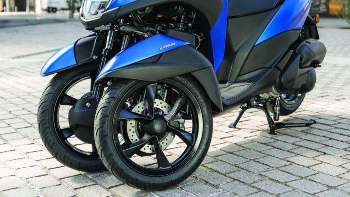 Yamaha tricity 155 2018 2019 τρίτροχο μπροστινές ρόδες τροχοί