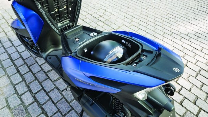 Yamaha tricity 155 2018 2019 χώρος κάτω απο την σέλα